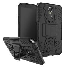 Untuk LG Stylus3 Stylus 3 Case 2017 untuk LG Stylo3 Stylo 3 Cover Kasar Armor Sarung Keras Telepon PC & TPU Hibrida kickstand Penutup Belakang-Intl