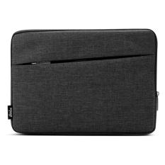 untuk MacBook Air 11.6 Inch dan 11 Inch dan Di Bawah Tas Laptop Universal Kain Soft Portable Paket Pouch (HITAM) -Intl