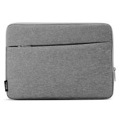 untuk MacBook Air 11.6 Inch dan 11 Inch dan Di Bawah Tas Laptop Universal Kain Soft Portable Paket Pouch (Grey) -Intl