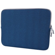 For Macbook Pro 13.3 inch with Touch Bar Laptop Bag Soft Portable Package Pouch (Blue)