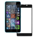 Jual Beli Online Untuk Microsoft Lumia 540 Layar Depan Lensa Kaca Luar Hitam