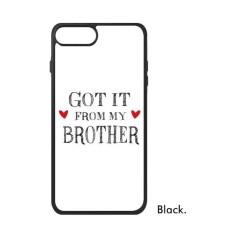 Untuk Keluarga Saya Mendapatkannya dari Saya Saudara Sekarang iPhone 7 Case S Iphone Case iPhone Sarung Telepon Case Hadiah -Internasional