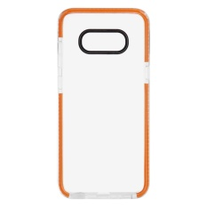 untuk BARU Samsung Galaxy S8 Bumper Pelindung Transparan Gel Cover Case (Orange)-Intl