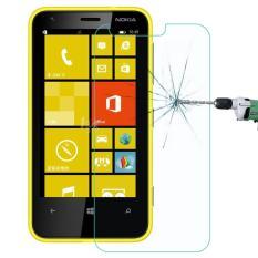 Untuk Nokia Lumia 620 0.26 Mm 9 H + Permukaan Hardness 2.5D Explosion-Tahan Kaca Melunakkan Film-Internasional