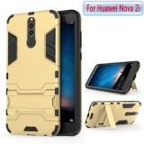 Review Untuk Nova 2I Phone Case Hybrid 2 In1 Case Hard Plastic Soft Silicone Tpu Cover Casing Matte Pc Hardcase Phonecover Untuk Huawei Nova2I Huawei Nova 2 I Intl Tiongkok