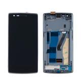 Jual For Oneplus Satu 1 A0001 Lcd Digitizer Tampilan Layar Sentuh Pembuatan Rangka Branded