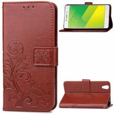 For Oppo A37 5 Case Cover Gaya Busana Klasik Dompet Flip Stand Pu Kulit Phone Case Murah