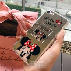 For Oppo A39/A57 - Minnie Mouse Mirror I Ring Soft Silikon Case Casing