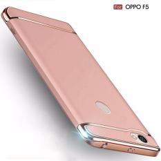 Harga Hard Case Plastik Tipis Fashion Mewah 3In1 Untuk Oppo F5 Baru