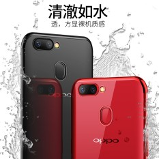 "For Oppo R11S plus soft case ultra thin transparent plating shining casing for Oppo R11s plus (6.43"")Mixed Colorful antioxidant cover housing - intl"