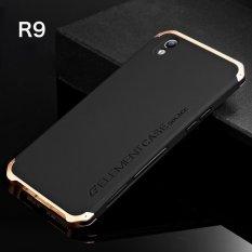 Untuk Oppo R9 5 5 Inch Case Luxury Ultra Tipis Elemen Fashion Logam Aluminium Cell Phone Case Mobile Belakang Cover Emas Hitam Intl Oem Diskon 40
