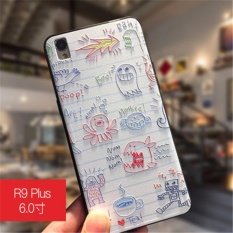 Case 3D Stereo Relief Painting Back . Source · Untuk OPPO R9 Plus .