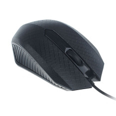 Diskon Besaruntuk Pc Laptop Fashion 1200 Dpi Usb Wired Optical Gaming Mice Mouse Hitam