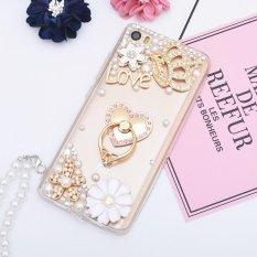 untuk Redmi Note 4 Hard Phonecase Fashion Phone Case Cover Casing Kasus Bagus dengan Ring Holder-Intl