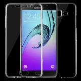 Beli For Samsung Galaxy A5 2016 A510 75Mm Double Sided Ultra Thin Transparent Tpu Protective Case Transparent Intl Sunsky