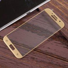 Beli Untuk Samsung Galaxy A5 2017 A520 Ukuran Penuh Ponsel Pelindung Layar Anti Gores Emas Online Terpercaya