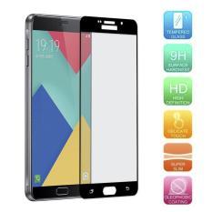 Untuk Samsung Galaxy A9 Pro A9000 A9100 Premium Penuh 2.5D Cover 0.3 Mm 9 H Kaca Antigores Pelindung Layar-Intl