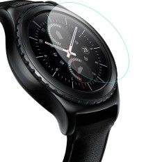 untuk Samsung Galaxy Gear S2 Smart Watch Tempered Glass HD Screen Protector Film-Intl