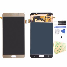 untuk Samsung GALAXY Note 5 N9200 N920F N920A N920T N920C N920V N920W8 Layar LCD Touch Screen Digitizer Assembly-Intl