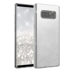 untuk Samsung Galaxy Note 8 2017 3 In 1 Sparkling Ultra Slim Phone Back Case Cover (GOLDEN) -Intl