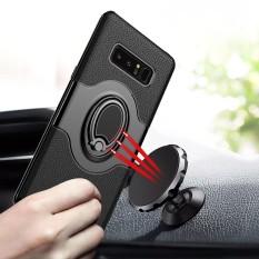 Untuk Samsung Galaxy Note 8 Tahan Jatuh Cakupan Penuh Pelindung Case Cover dengan Magnetic Cincin Y