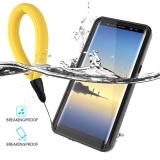 Jual Untuk Samsung Galaxy Note 8 Ultra Slim Waterproof Dustproof Case Cover Dots Pola Pelindung Shell Dengan Daya Apung Lanyard Intl Moonmini Original