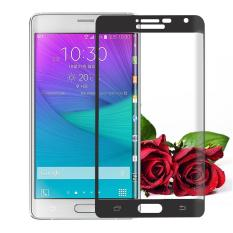 Untuk Samsung Galaxy Note Edge Premium Penuh 3D Cuvred Cover 0.3mm 9 H Tempered Glass Screen Protector-Intl