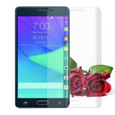 Premium Full 3D Curved 0.3mm 9H Tempered Glass Screen Protector Untuk Samsung Galaxy Note Edge