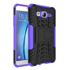 Untuk Samsung Galaksi On5 Butir Braket Drop  - berikut 2 Dalam 1 Berikut  - Internasional  ( Purple )
