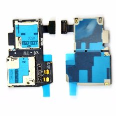 untuk Samsung Galaxy S4 Aktif I9295 I537 SIM Slot Kartu SD Pemegang Baki Reader Kabel Fleksibel-Intl