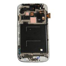 Untuk Samsung Galaxy S4 I337 M919 Layar LCD Layar Sentuh Lensa Sentuh Suku Cadang Pengganti Digitizer Biru
