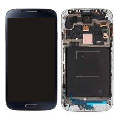 Untuk Samsung Galaxy S4 I9500 Layar LCD Layar Sentuh Lensa Sentuh Suku Cadang Pengganti Digitizer Abu-abu