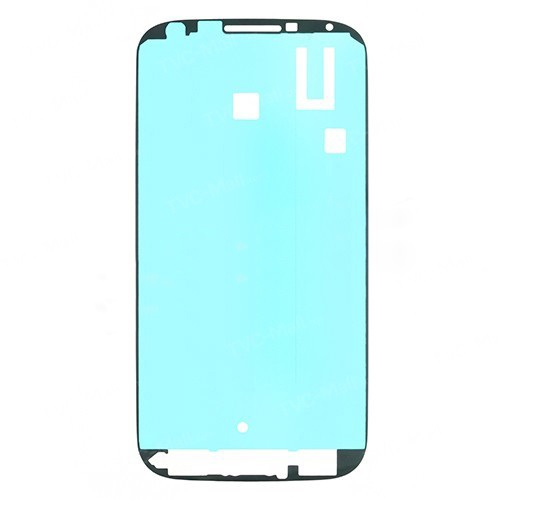 untuk Samsung Galaxy S4 IV SGH-i9500 I337 I9505 I337 M919 OEM Depan Perumahan Bingkai Bezel Plate Perekat Stiker-Intl