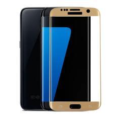 untuk Samsung Galaxy S6 Edge Premium Penuh 3D Cuvred Cover 0.3mm 9 H Tempered Glass Screen Protector-Intl