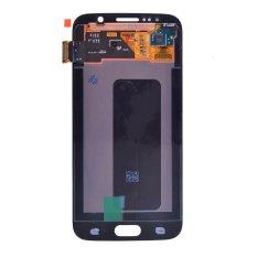 Untuk Samsung Galaxy S6 G920 G920V G920A Layar LCD Layar Sentuh Lensa Sentuh Suku Cadang Pengganti Digitizer Putih