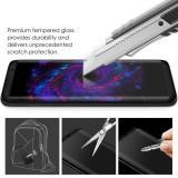 Toko Jual Untuk Samsung Galaxy S8 Plus Pelindung Layar 9 H Melengkung Penuh Marah Kaca Film Hitam