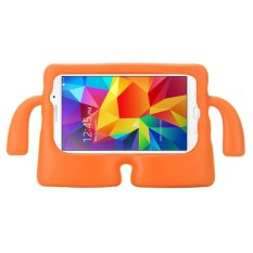 For Samsung Galaxy Tab 4 7.0 / T230 & Tab 3 Kids / Lite / T111 Universal Small Person TV Model EVA Bumper Protective Case(Orange) - intl