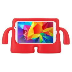 For Samsung Galaxy Tab 4 7.0 / T230 & Tab 3 Kids / Lite / T111 Universal Small Person TV Model EVA Bumper Protective Case(Red) - intl