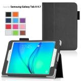 Pusat Jual Beli Untuk Samsung Galaxy Tab A 8 Inch Tablet Pu Kulit Smart Flip Case Cover Dengan Stand Fungsi Dan Tempat Pena Stylus Screen Film Hitam Tiongkok