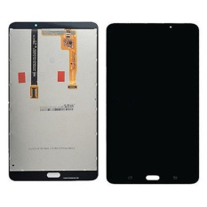 untuk Samsung Galaxy Tab A T280 Tablet PC LCD Display + Layar Sentuh Digitizer Penggantian Kaca Bagian-Internasional