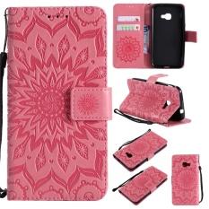 untuk Samsung Galaxy Xcover 4 Case Cover-Gaya Busana Klasik Dompet Flip Stand PU Kulit Mobile Phone Case- INTL