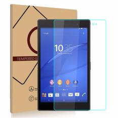 for Sony Xperia Z3 Tablet Tempered Glass Premium Screen Protector Guard 9H HD Anti Fingerprint and Scratch 99% Light Transmission Perfect Touch - intl