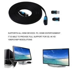 Ulasan Tentang Untuk Vention A13 Series Black 3 M Cepat Transit Usb 3 Kabel Ekstensi M F Kabel Intl