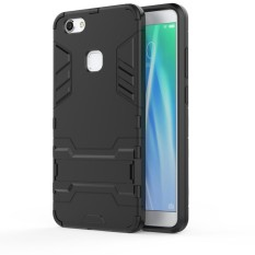 For Vivo V7 Phone Case Hybrid 2 in1 Case Hard Plastic + Soft Silicone TPU Cover Casing - intl - intl