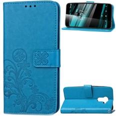 untuk Vodafone Smart Platinum 7 Case Cover-Gaya Busana Klasik Dompet Flip Stand PU Kulit Phone Case-Intl