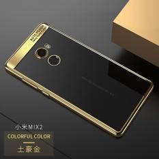 untuk Xiaomi Mi Mix 2 Full Protective Case Soft TPU & Acrylic Transparan Sampul Belakang Ultra Slim untuk Mix2 Case Mi Mix 2-Intl