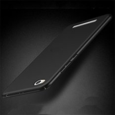 untuk Xiaomi Redmi 4A Ultra Tipis Slim Keras PC Anti Knock Perlindungan Back Phone Case/Ponsel Cover/ Pelindung Telepon untuk XIAOMI REDMI4A/Xiaomi Redmi 4A/Merah MI 4A-Intl