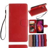 Beli Untuk Xiaomi Redmi Note 4 Wallet Case Classic Flip Folio Phone Case Bahan Kulit Pu Lembut Cover Dengan Slot Kartu Klip Uang Penutupan Magnetik Stand Holder Tali Pergelangan Tangan Yang Bagus
