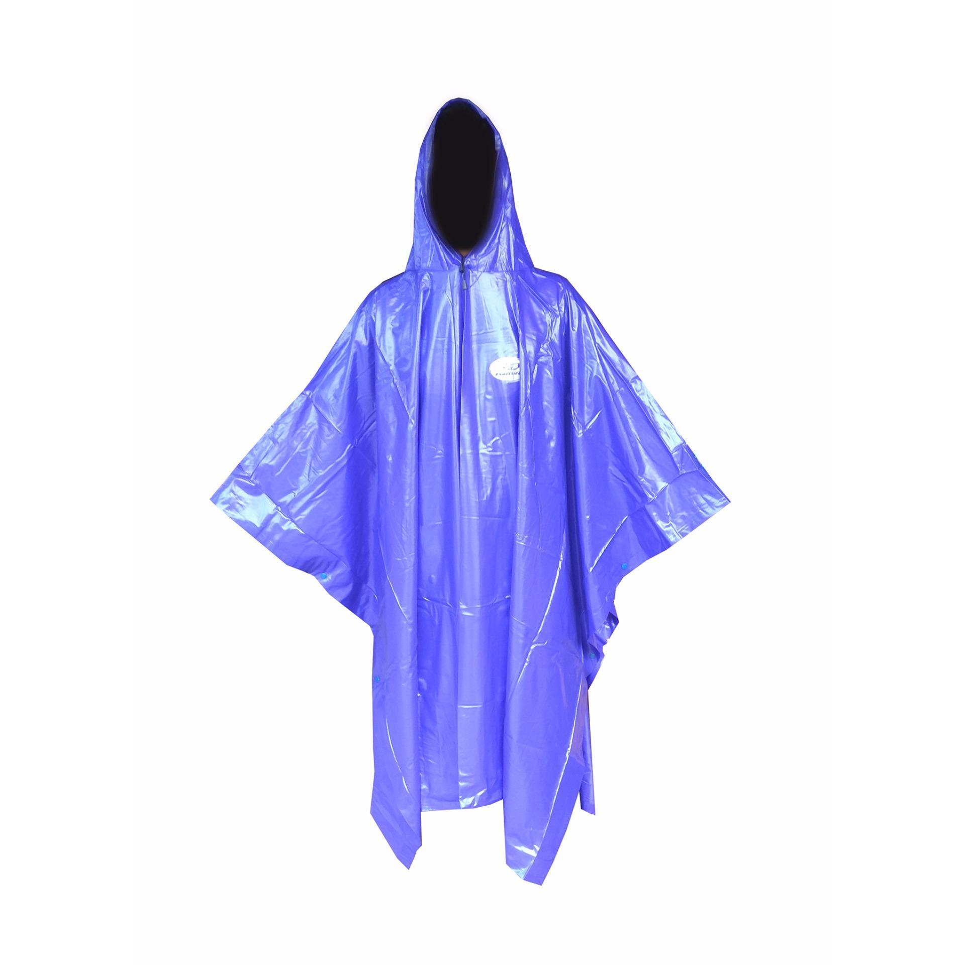 Dapatkan Segera Fortune Jas Hujan Ponco Karet Pvc Tebal Beratnya Hampir 1Kg Tipe F613 Biru