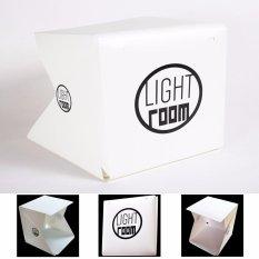 Beli Fosoto Foto Studio Tenda Mini Dapat Dilipat Fotografi Studio Portable Lampu Kotak Kit Dengan Lampu Led Led Lampu Tenda 22 6Cmx 23X24Cm Dua Blackgrounds Putih Dan Hitam Terbaru